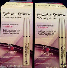 "RapidLash Eyelash & Eyebrow Enhancing Serum  ""Pack of 2""  each  3 mL / 0.1 oz."