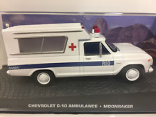 James Bond 007 CHEVROLET c-10 Ambulancia MOONRAKER 1:43 Escala