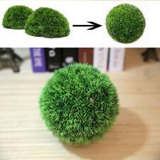 1 X Artificial Hanging Topiary Buxus Balls Faux Boxwood Plant Garden Patio Decor