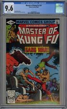 Master of Kung-Fu #91 CGC 9.6 NM+ Wp Marvel 1980 Shang-Chi & Zeck Cover & Art