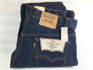 Vintage NWT Levi's 20505 0217 Straight Leg Original Fit Blue Jeans 38 x 34 NOS