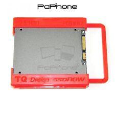 """Soporte Adaptador Para Discos Duros HDD y SSD De 2,5"""" A 3,5"""" PC Torres Rojo"""