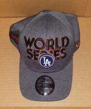 Los Angeles Dodgers New Era Hat Cap 2017 NL Champions 39THIRTY Flex World Series