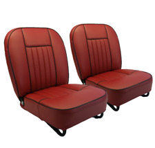 MGB Seat Covers 1962-68 MK1-Cuir paire NEUF
