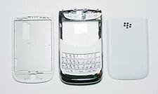 White Housing Cover Fascia Facia case faceplate for Blackberry Torch 9800