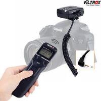 Wireless Timer Shutter Release Remote for Canon 1100D 1300D 650D 600D 550D 60D