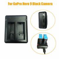 1* GoPro Hero 9 Schwarzes Kamerazubehör Schnellladegerät mit zwei Ladegeräten