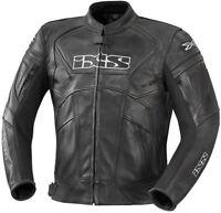 Ixs Hype Hombre Chaqueta de Moto Deporte Cuero Forro Térmico Se Pueden Quitar
