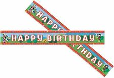 4.5metre  MICKEY MOUSE CLUB HOUSE happy Birthday wall   banner  banners