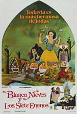 Snow White and the Seven Dwarfs (1937) Disney cartoon movie poster 24x36 inches