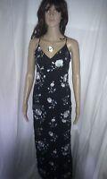 Stunning SILK Evening MAXI Dress  KAREN MILLEN. Cocktail Party. Lined.   Size 8