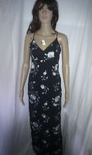 Stunning SILK Evening MAXI Dress  KAREN MILLEN. Cocktail Party. Lined.   Size 8