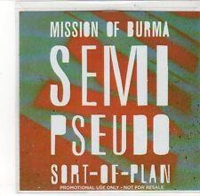 (DL180) Mission of Burma, Semi Pseudo Sort of Plan - 2012 DJ CD