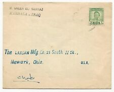 Iraq Scott #114 on Cover Tied by Black CDS