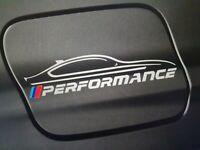 BMW M Performance Aufkleber Weiß NEU