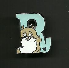 Hampster Rhino from the Pixar Movie BOLT Alphabet Splendid Disney Pin