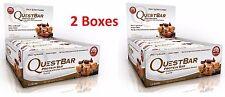 2X BOXES 24 BARS Quest bar Choc Chip Cookie Dough Quest Nutrition questbar