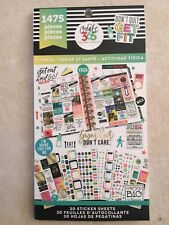 Create 365™ The Happy Planner™ Fitness Value Pack Stickers 077547 NEW