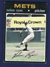 New listing NOLAN RYAN 1971 Topps #513 VG New York Mets HOF