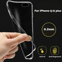 Ultra Thin Clear Silicone TPU Case Transparent Cover for Apple iPhone 6s/7 Plus