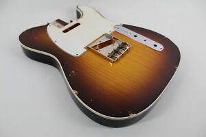 MJT Official Custom Vintage Age Nitro Guitar Body Mark Jenny VTT Bound Swamp Ash