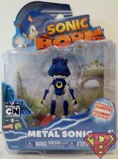 "METAL SONIC Sonic Boom Sonic The Hedgehog 3"" inch Action Figure Sega Tomy 2015"