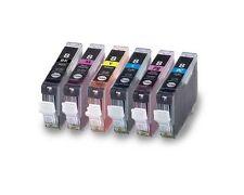 6PK New Ink For Canon CLI8 CLI-8 BK/C/M/Y/PC/PM Pixma MP950 960 970 700 790 900