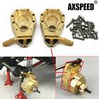 2Pcs Heavy Duty Brass Front Wheel Steering Knuckle For 1/10 RC TRAXXAS TRX-4 US