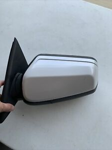 2010 2011 Lincoln MKS Left Driver Power Mirror Spotter Heated White Pearl