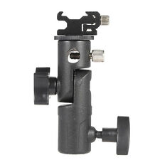E Type Universal Flash Hot Shoe Speedlite Umbrella Holder Light Stand Holder