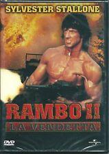 Rambo II la vendetta (1985) DVD NUOVO SIGILLAT Sylvester Stallone Richard Crenna