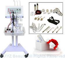 5 in 1 Facial Machine High Frequency Brush Galvanic Beauty Spa Salon Equipment