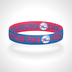 Reversible Philadelphia 76ers Bracelet Wristband Trust the Process