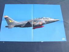 Poster Dassault-Breguet Dornier Alpha Jet E Côte d'or  French AIR FORCE