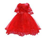 Girl's formal party bridesmaid dress kid princess sundress summer tutu dresses
