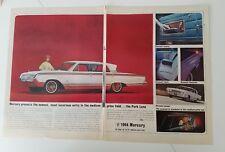 1964 Bianco Mercury Parklane Four-Door Sedan Lussuosa Interni Auto 2 Pagina