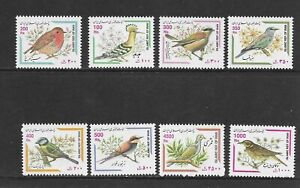 BIRDS  issue of 8 MINT NH