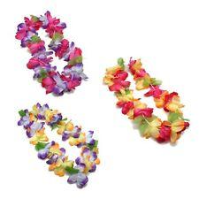 Amazing Hawaiian Faux Flower Leis, luau /Tiki Party Decor, Tropical Beach Surfer