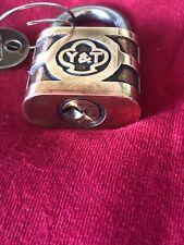 Vintage Yale 840 Pin Tumbler Padlock w/Key