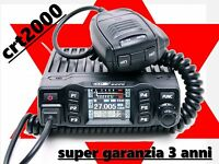 CRT 2000H RICETRASMITTENTE POTENZIATO CB AM/FM 400 CANALI 40 WATT LCD A COLORI