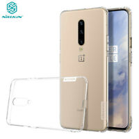 For OnePlus 7 Pro Nillkin Nature Transparent Slim TPU Silicone Soft Case Cover