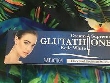 Crème éclaircissant  supreme glutathione et Kojic Action rapide