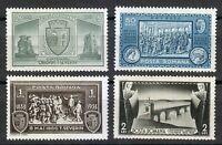 Romania 1933 MNH Mi 458-461 Sc 429-432 Turnu-Severin,Trajan's Bridge,Walachia **