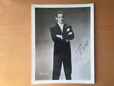 MEXICAN AMERICAN HOLLYWOOD: Autographed Tito Guizar Photo by Maurice Seymour