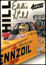 Eddie Hill Action Packed NHRA Authentic Hand Signed Autographed Trading Card #1