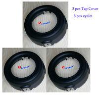 3X Trimmer Head Tap Cover F Husqvarna 224L 322L 325L 325LX 323L 326L 326LX 327L