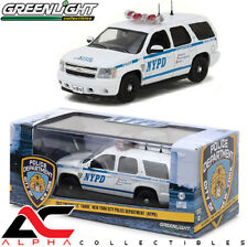 GREENLIGHT 86082 1:43 2012 CHEVROLET TAHOE NYPD NY POLICE FIRST RESPONSE