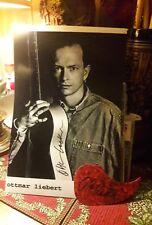 """""""Ottmar Liebert""""...signed acoustic guitar picguard & photo!"""