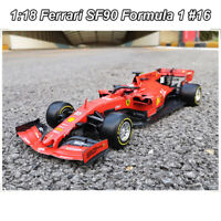 IN STOCK Bburago 1/18 Ferrari 90 Years SF90 Formula 1 #16 Racing DIE-CAST MODEL