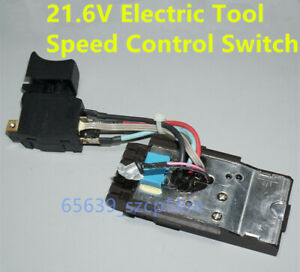Electric Tool Speed Control Switch Variable Speed Reverse For Hilti SF10W-18